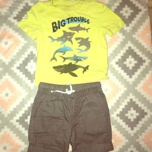 Matching Sets - Baby boy out fit